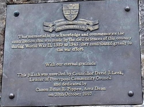 Civil Defences War Memorial