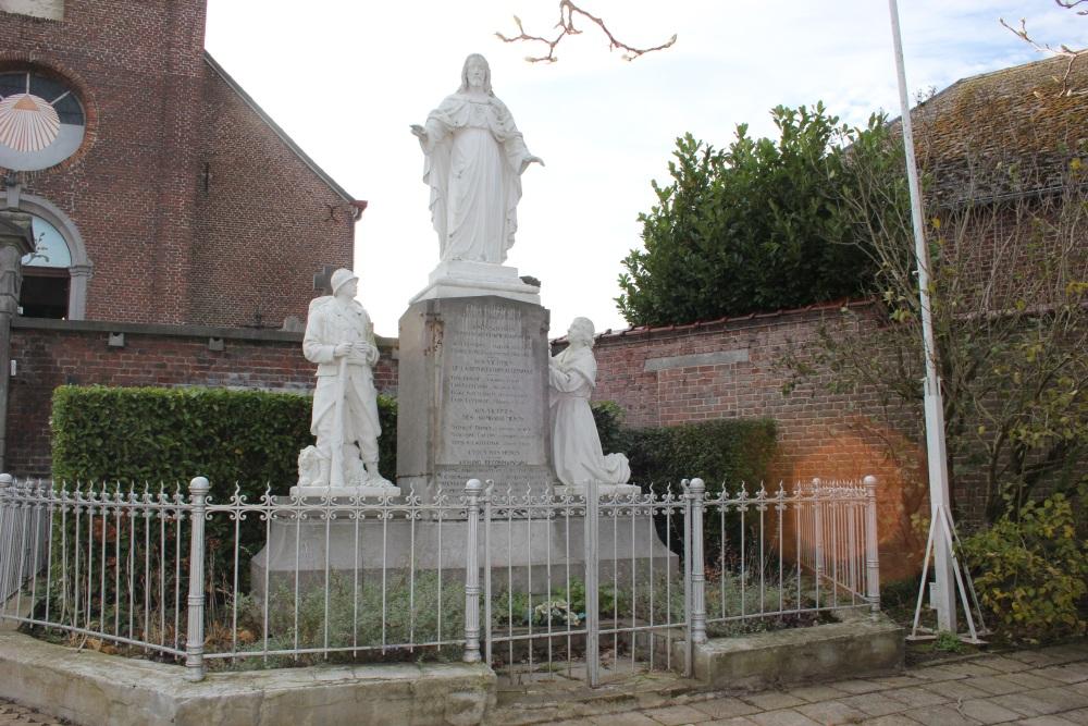 War Memorial Anvaing