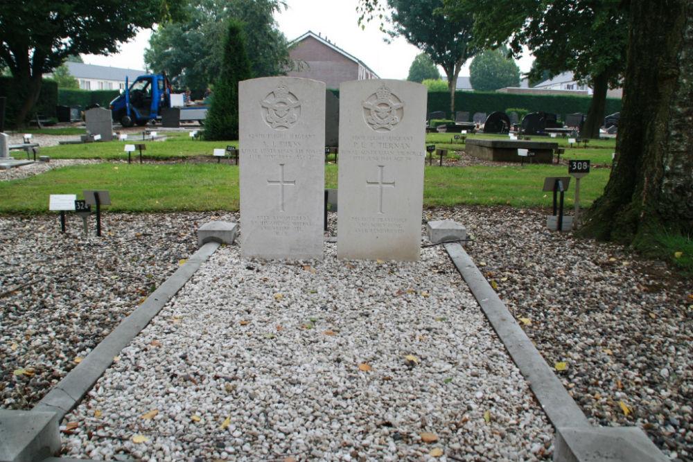 Oorlogsgraven van het Gemenebest Gemeentelijke Begraafplaats Dodewaard
