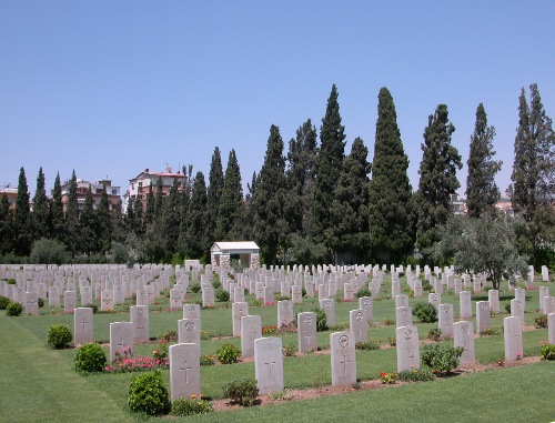 Commonwealth War Cemetery Damascus