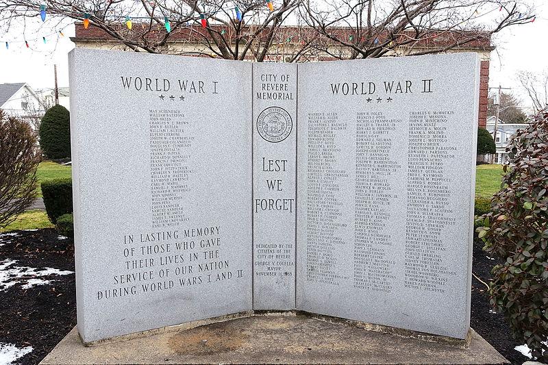 War Memorial Revere