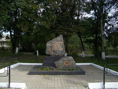 Mass Grave Bolshevik Soldiers