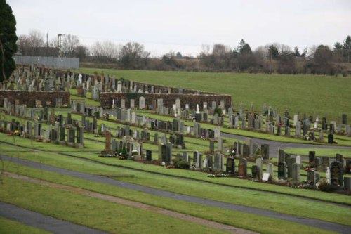 Commonwealth War Graves Mauchline Cemetery
