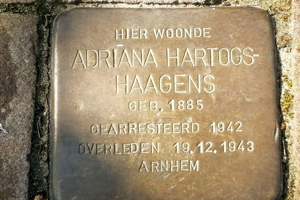 Stolperstein Louis Bouwmeesterplein 9