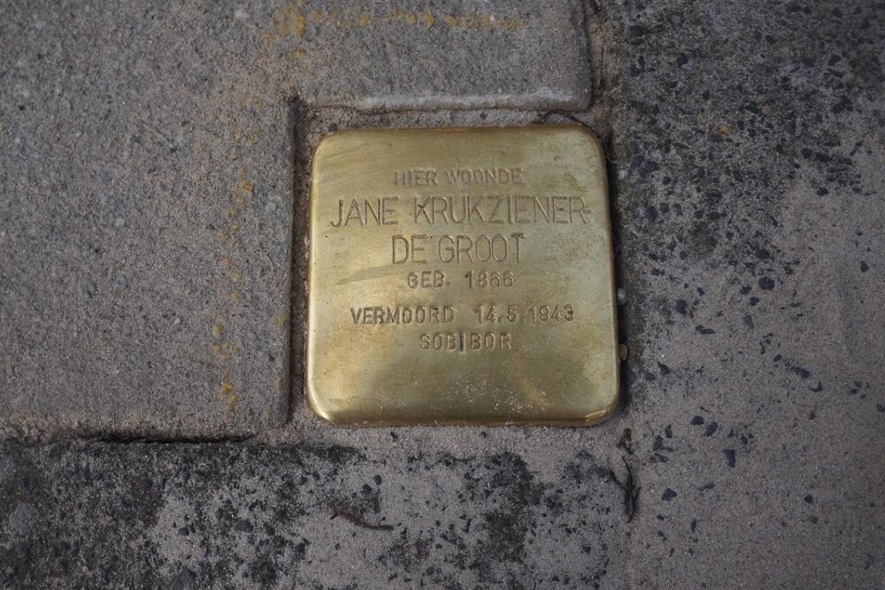 Stumbling Stone Rembrandtstraat 22 Zutphen