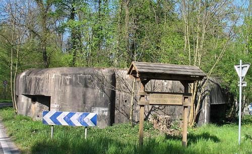 Maginotlinie - STG Kazemat Forêt de la Robertsau (1)
