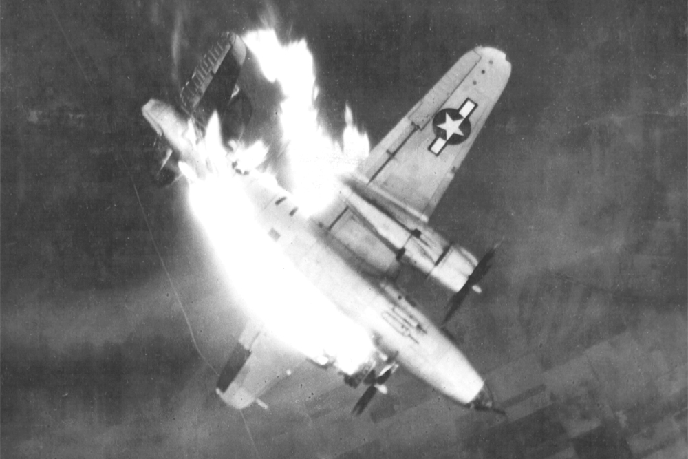 Crash Site B-26 Marauder 40-1478