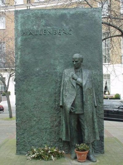 Monument Raoul Wallenberg Londen
