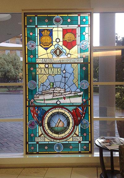 Memorial Window AHS Centaur Concord Repatriation Hospital