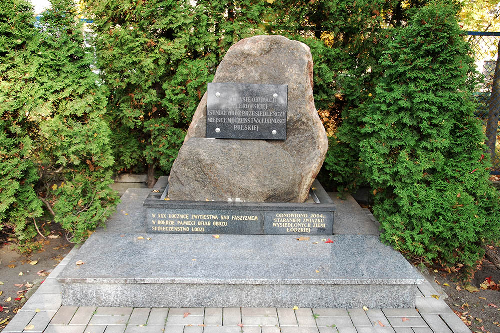 Monument SS-Herbestemmingskamp Lodz (UWZ Lager Lodz)
