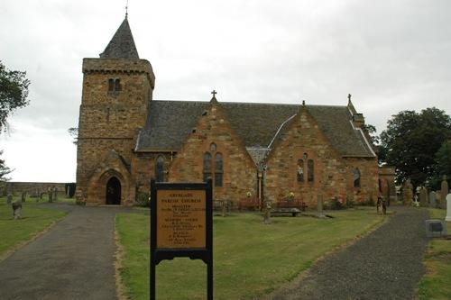 Oorlogsgraven van het Gemenebest Aberlady Churchyard