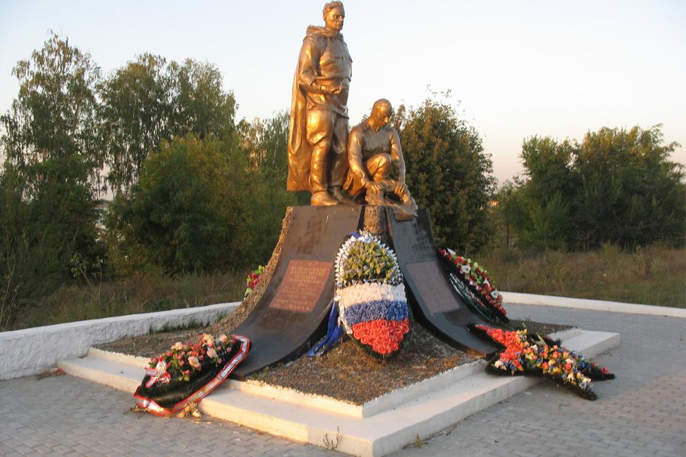 Mass Grave Soviet Soldiers No. 12