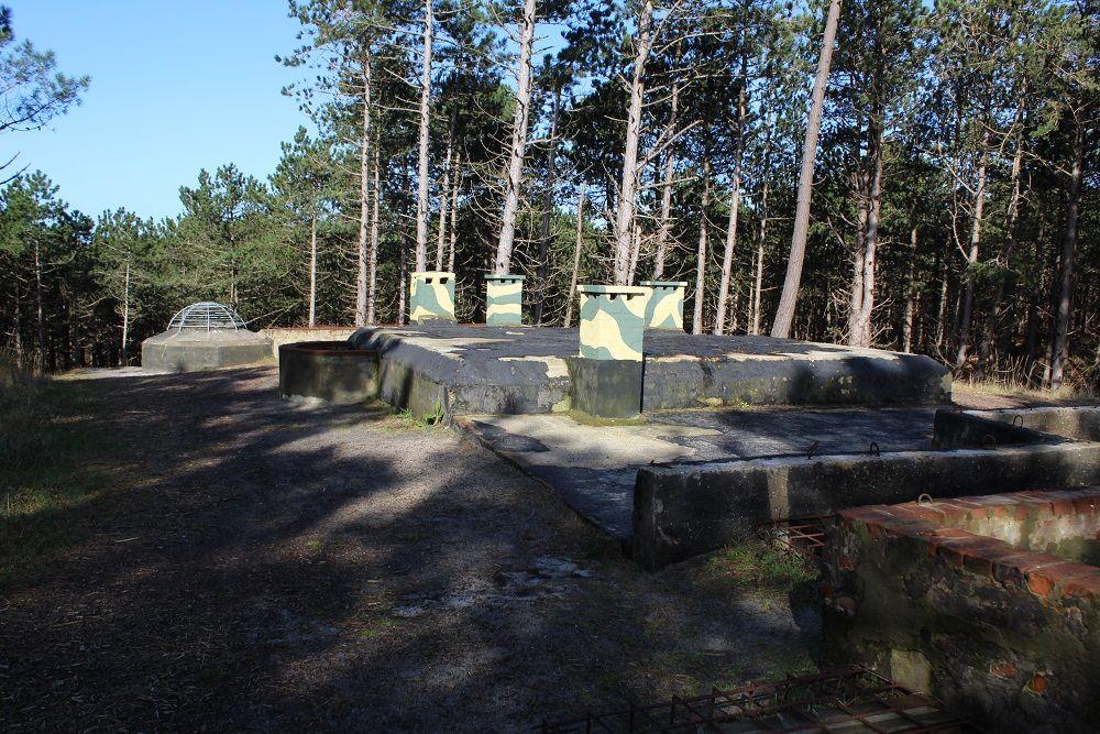 Duitse Radarstelling Tiger - Bunker Für 12 Mann Küvertype 413
