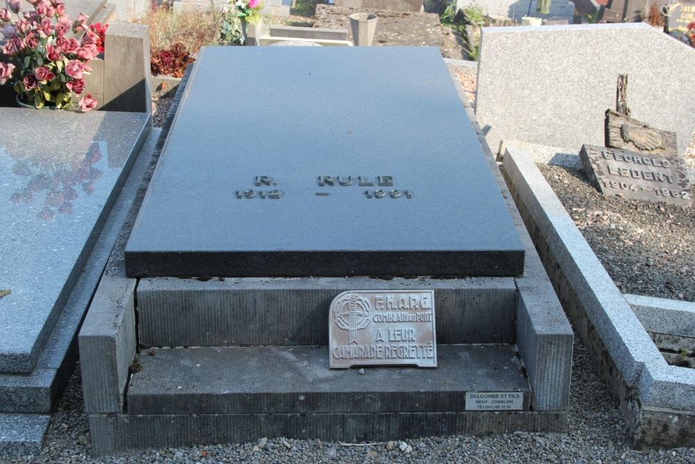 Graven Oudstrijders Comblain-au-Pont