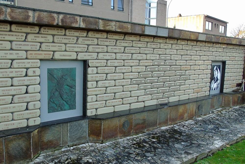 Oorlogsmonument Eerste Wereldoorlog Begraafplaats Turnhout