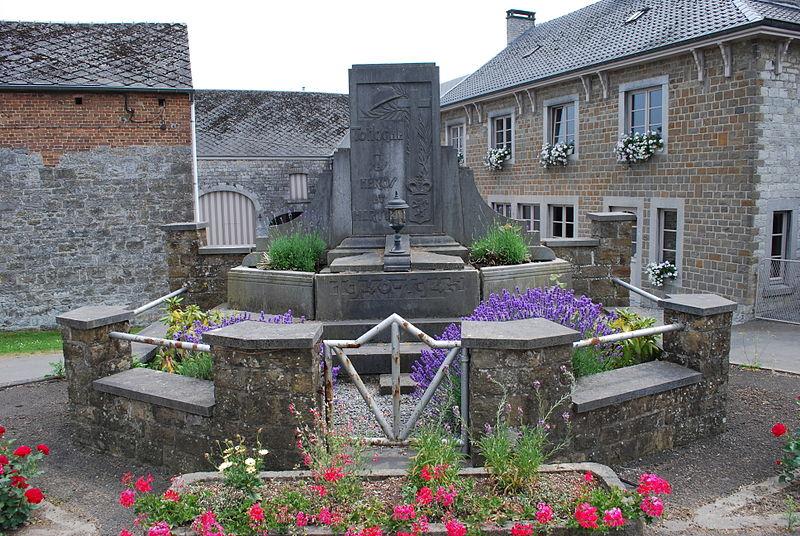 World War II Memorial Tohogne