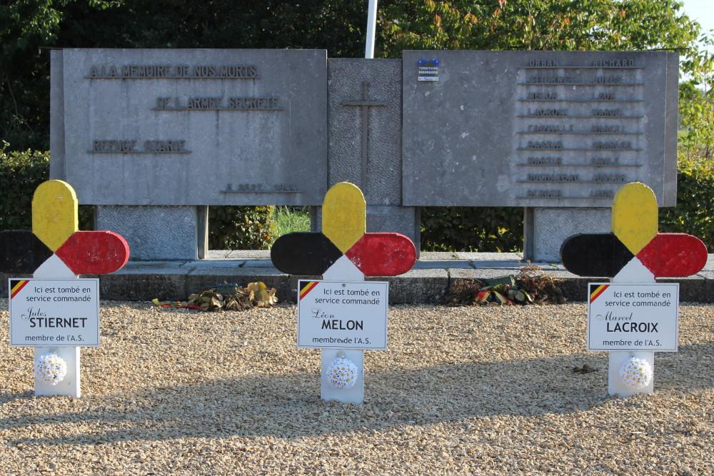 Memorial Crosses Resistance Omal
