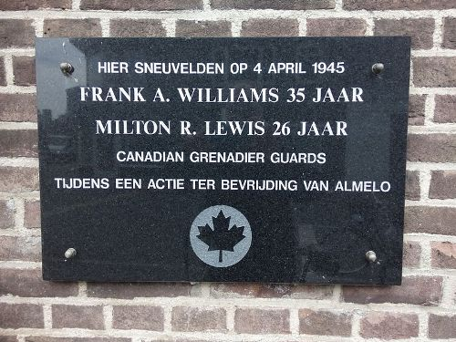 Plaque Killed Allied Soldiers