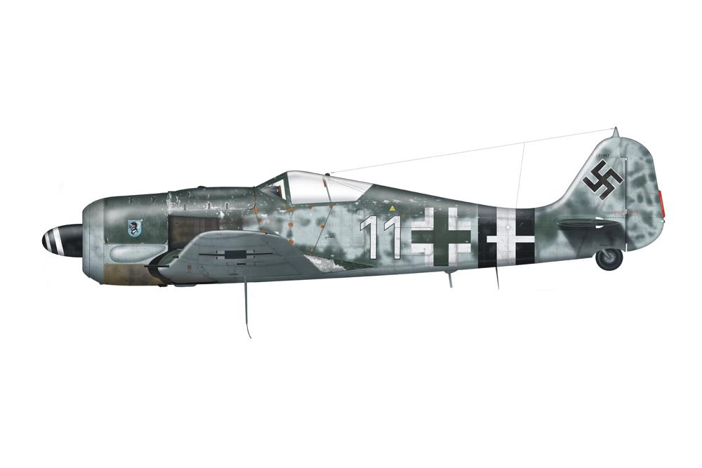 Crashlocatie Focke-Wulf FW190A-8 737405