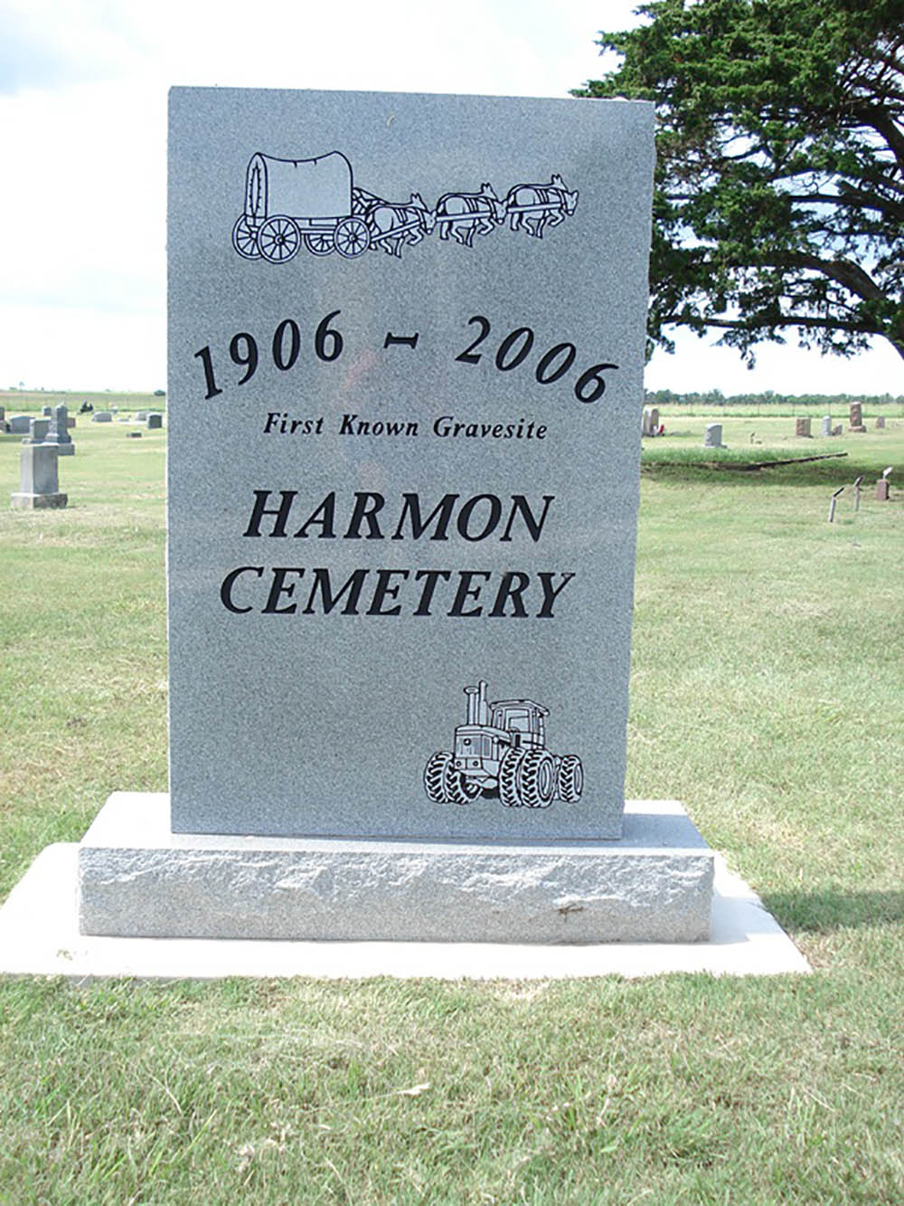 American War Grave Harmon Cemetery