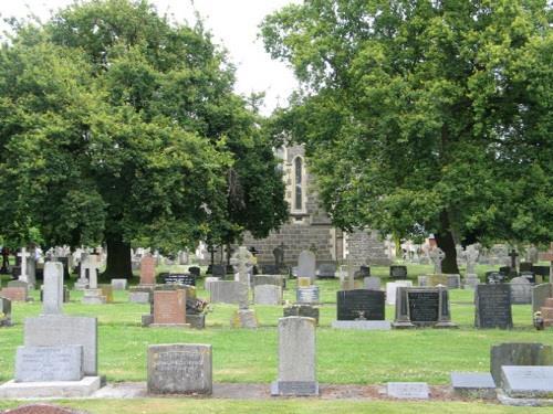 Oorlogsgraven van het Gemenebest Upper Riccarton Anglican Church Cemetery
