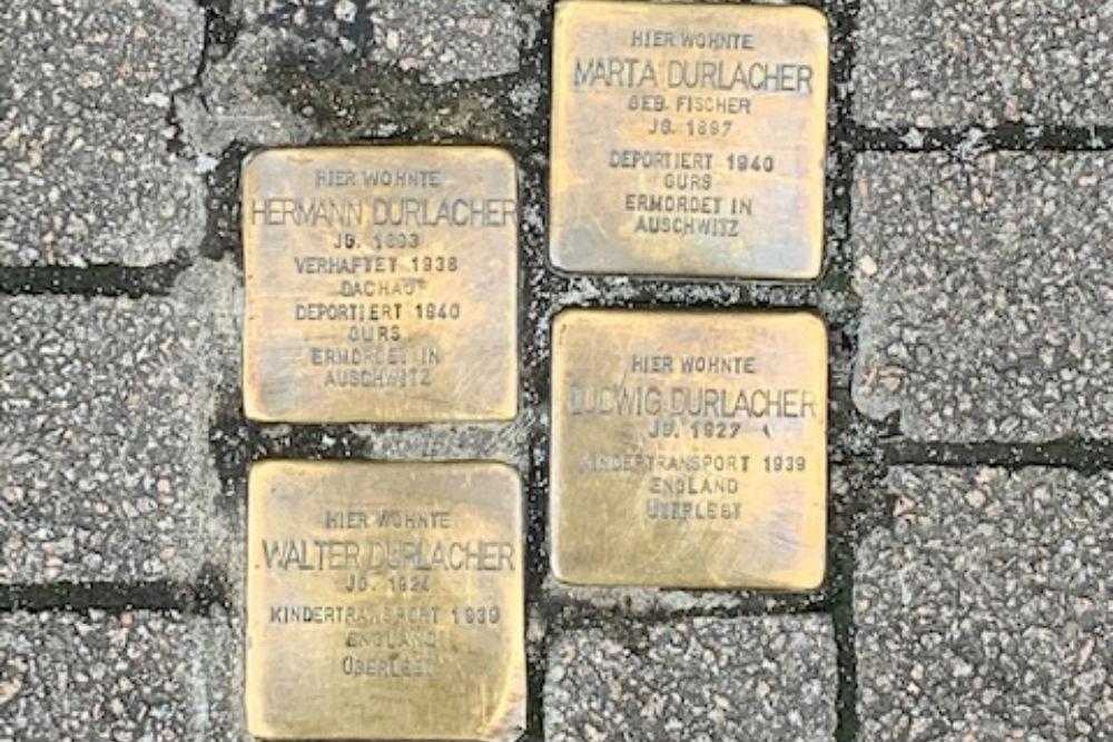 Stumbling Stones Hauptstraße 121