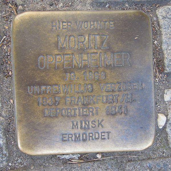 Stumbling Stones Rodensteinstraße 106