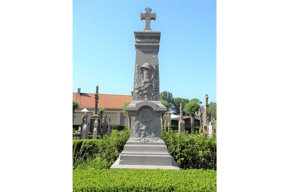 Monument Begraafplaats Bulskamp