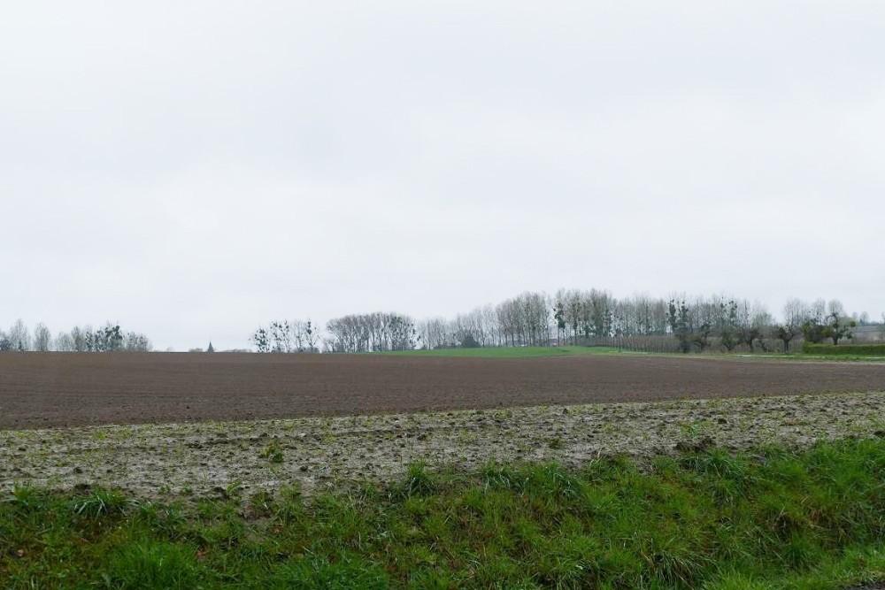 Duitse Tijdelijke Begraafplaats te Overrepen