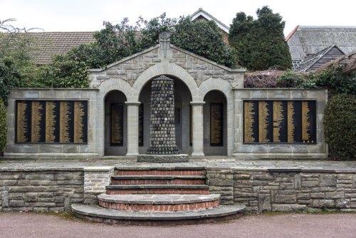 War Memorial Palmers Green