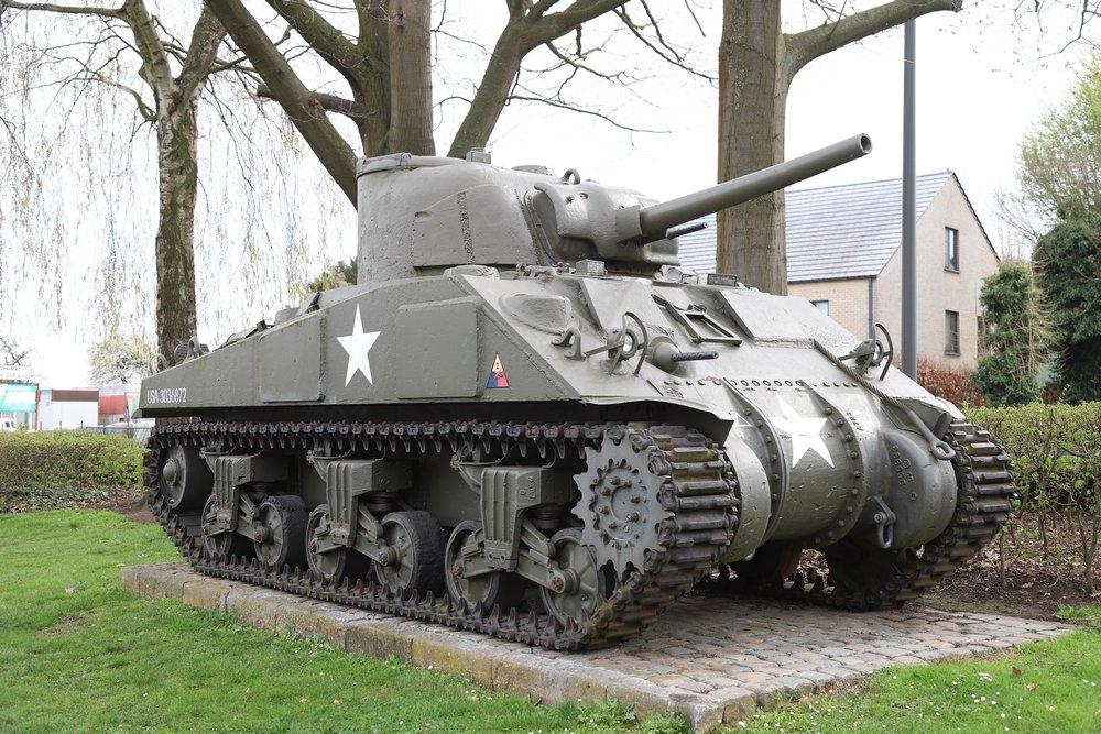 M4A4 Sherman Tank Mopertingen