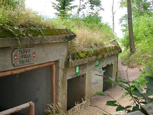 Fortifikation Murten - Infanterie-Stützpunkt Mont Vully