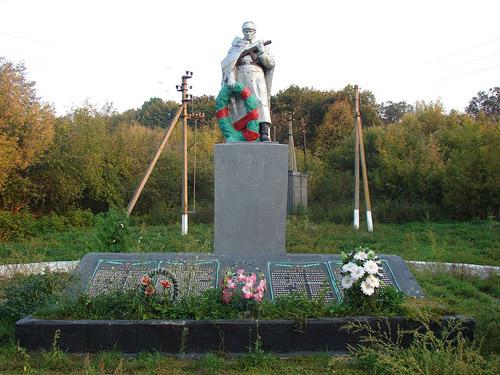 Mass Grave Soviet Soldiers Chernechchyna