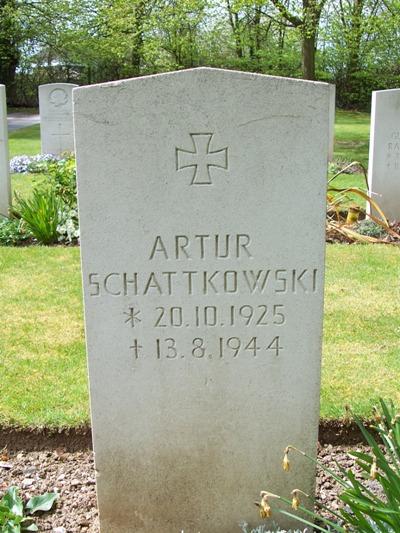 Duitse Oorlogsgraven Basingstoke