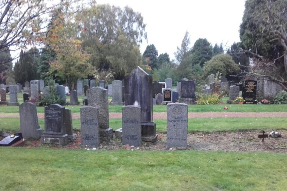 Commonwealth War Graves Hamilton West Cemetery