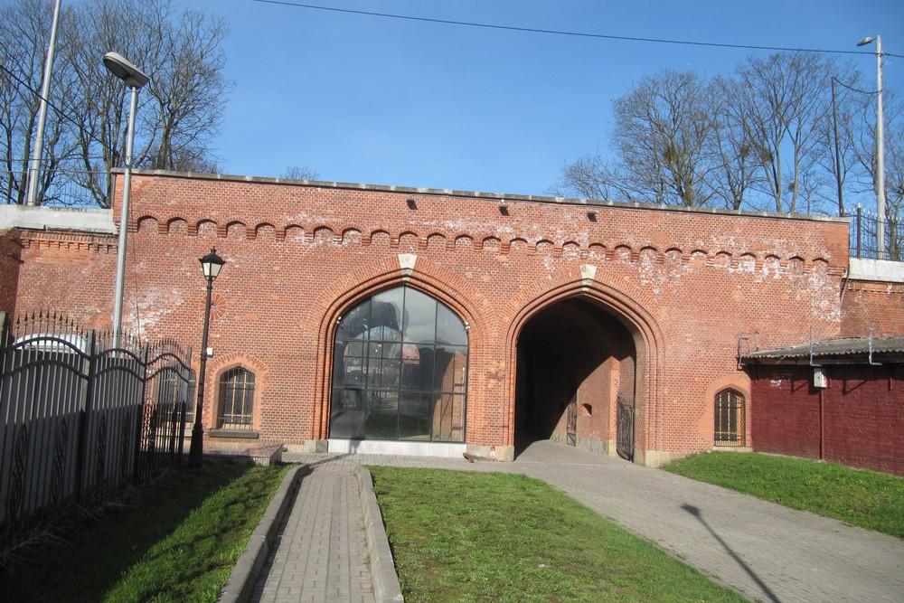 Festung Königsberg - Eisenbahn Tor