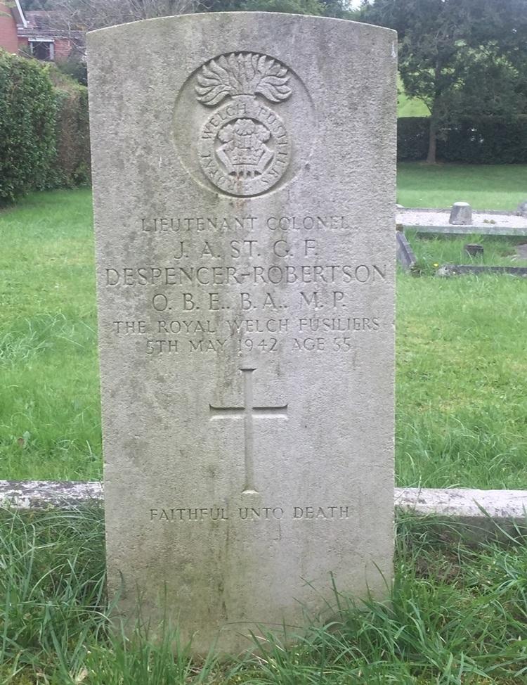 Oorlogsgraf van het Gemenebest Newton Tony Burial Ground