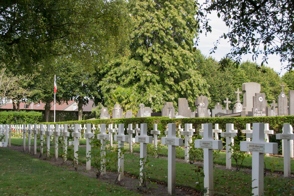 French War Graves Communal Cemetery Veurne