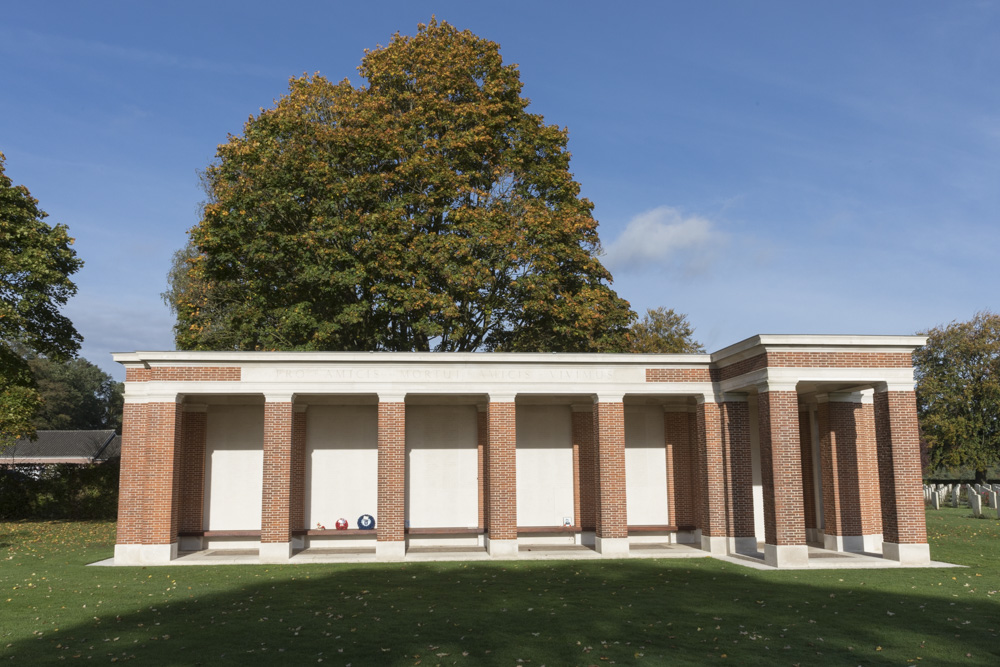 Groesbeek Memorial Canadese Oorlogsbegraafplaats Groesbeek