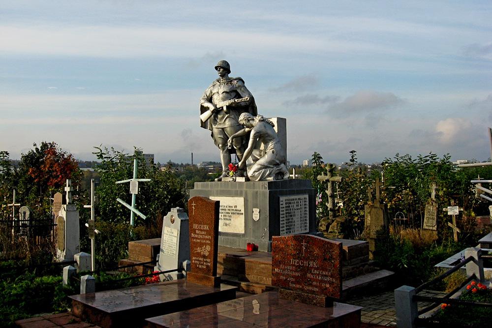 Massagraf Sovjet Soldaten Grodno