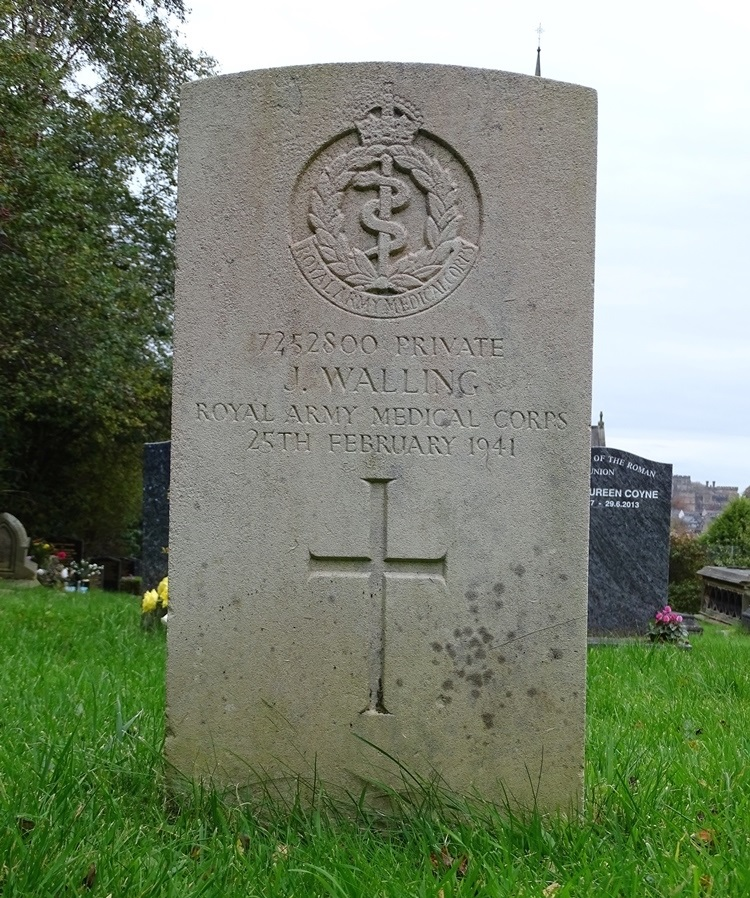 Commonwealth War Grave St. Peter Roman Catholic Cathedral Cemetery