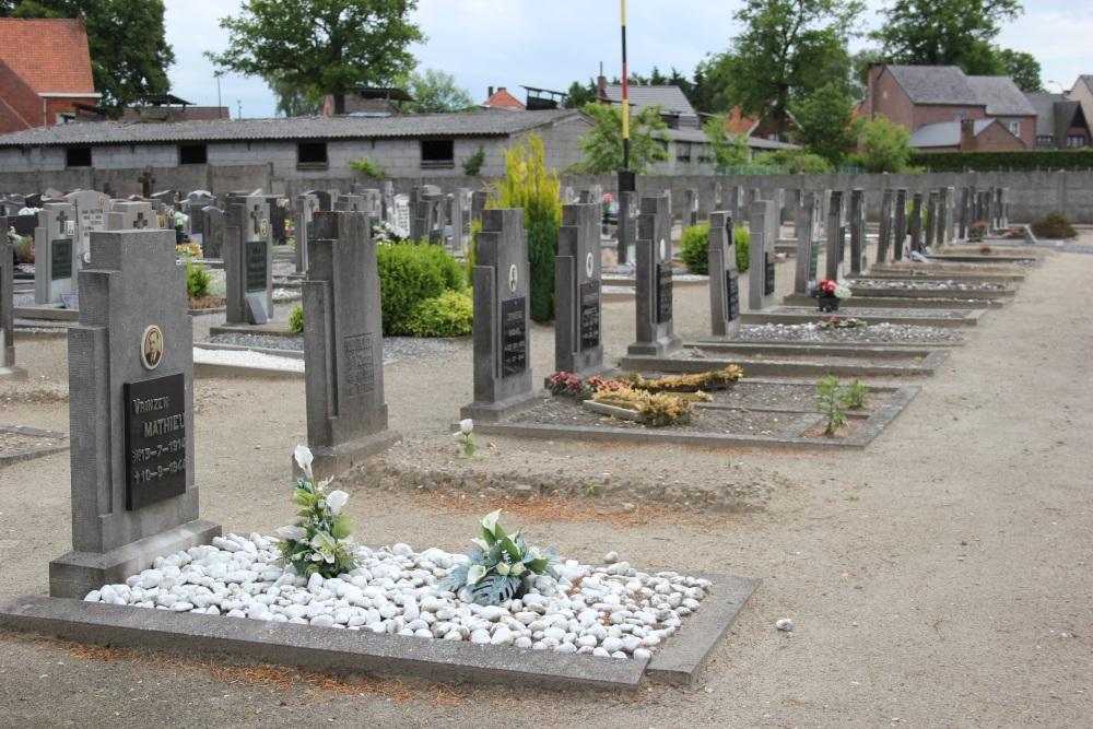 Belgian War Graves Hechtel