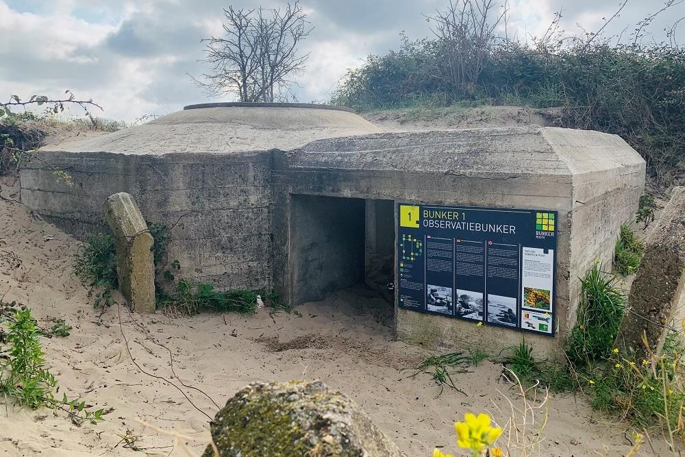 Observation Bunker Bunkerroute no. 1 De Punt