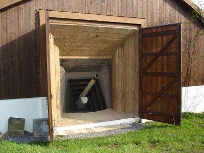 Artillerie bunker Faulensee