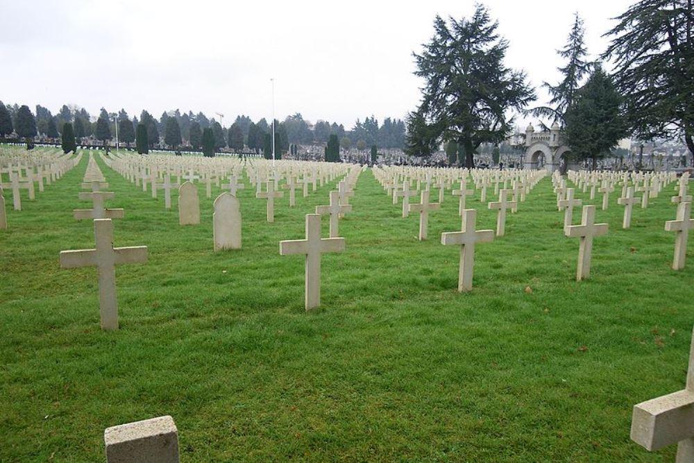 Franse Oorlogsgraven Cimetiére de l'Est
