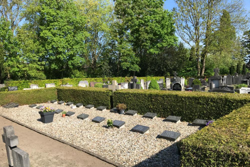 Dutch War Graves Old Municipal Cemetery Haaksbergen