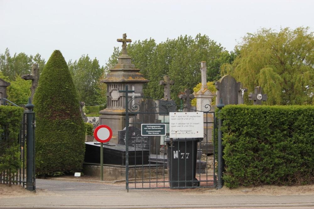 Commonwealth War Graves Nieuwpoort