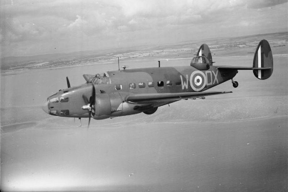 Crashlocatie & Restant Lockheed Hudson Mark I # A16-36