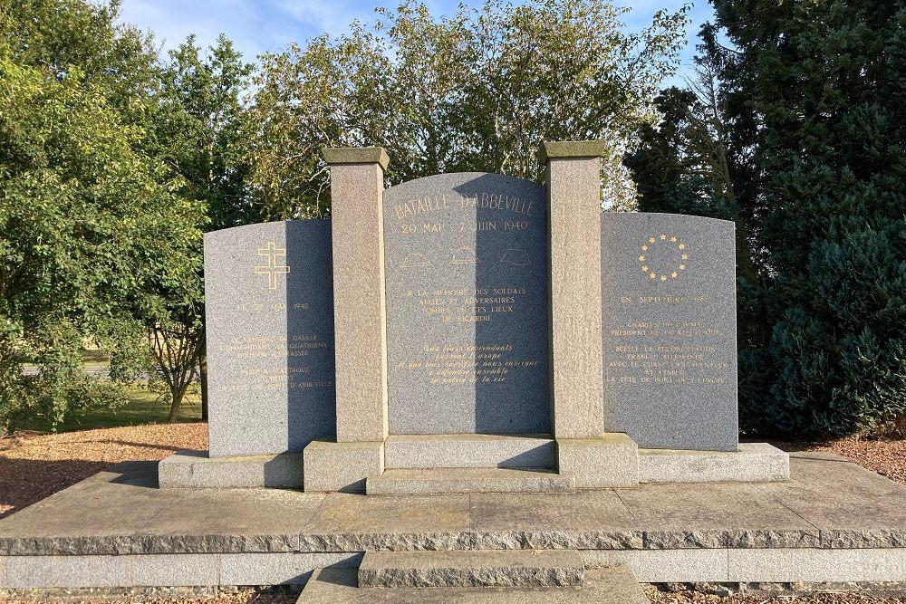 Monument Slag Om Abbeville, Huppy