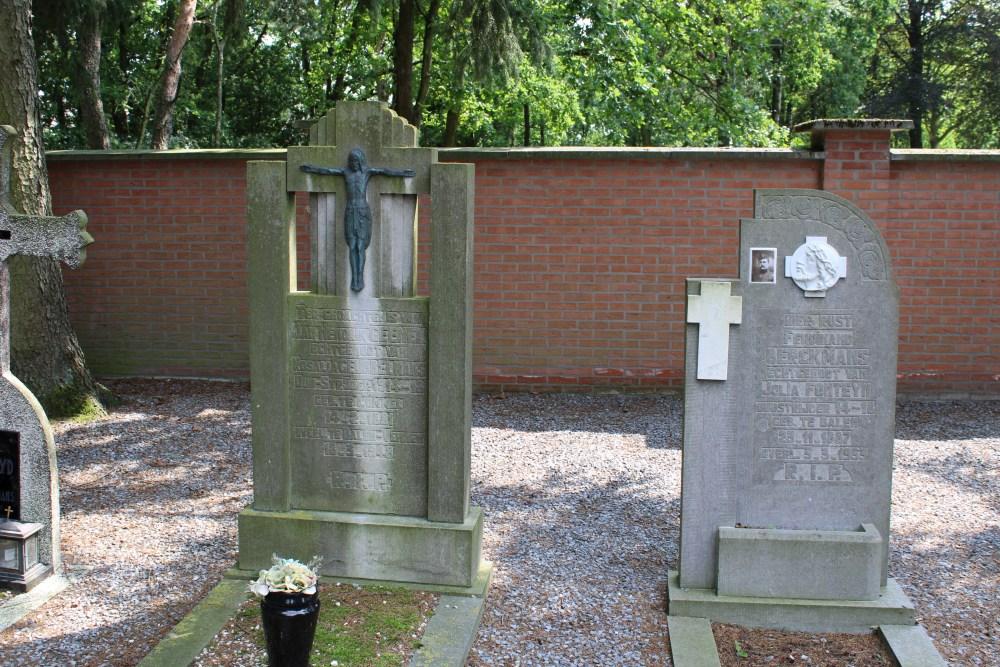 Veteran War Graves Cemetery Kerkhoven Lommel